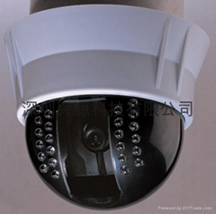 SHARP 30米豪华型低解析红外半球摄像机