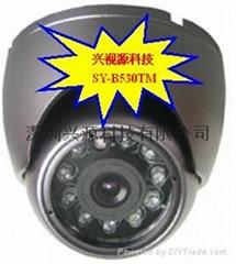 海螺型监控摄像机