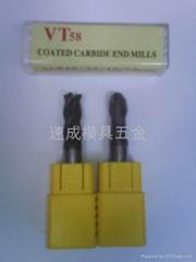 VT48/VT58合金塗層銑刀