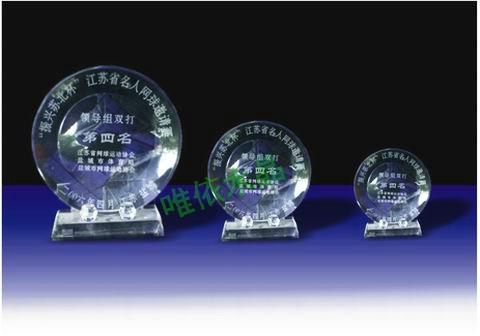 水晶奖牌  5