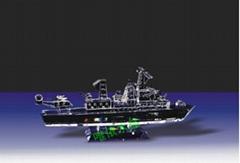 Crystal warships