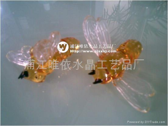 水晶玫瑰花 2
