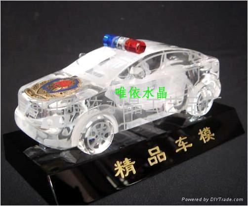 水晶車模 1