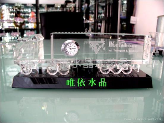 水晶車模 4
