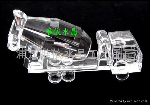 水晶車模 5