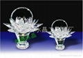 Crystal Flower Basket