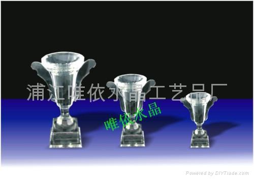 水晶奖杯图片 3