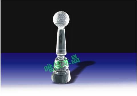 水晶奖杯图片 4