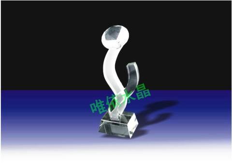 水晶奖杯图片 5