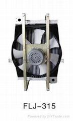 供應混凝土輸送泵液壓油散熱器