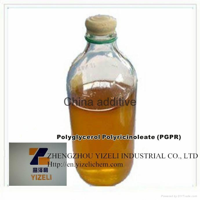 China food additive Polyglycerol polyricinoleate(PGPR) 1