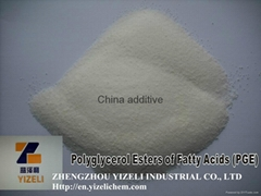 best price china additive Polyglycerol Esters of Fatty Acids (PGE)