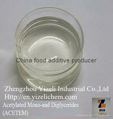 China food additive Acetylated Mono- and Diglycerides (ACETEM)