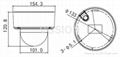 IK10 3x Motorized zoom Lens H.265 4 Megapixel POE IP Dome Camera 2
