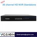 36CH HD NVR Standalone ONVIF NVR HDMI