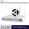 960P WIFI Fisheye Camera 360 degrees