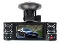 2.7inch DUAL LENS 720P HD CAR DVR