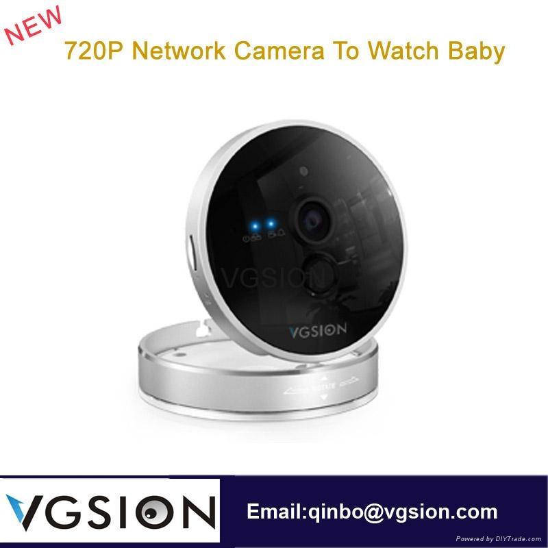 720P Network Camera To Watch Baby  Wireless Video Camera Indoor IP Wif Camera 1