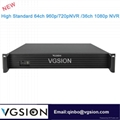 64CH 960P NVR Network POE Video Recorde