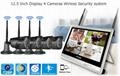 12.5 inch Disdplay 4 camera Wireless