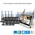 12.5 inch Disdplay 8 camera Wireless