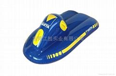 充气滑雪板