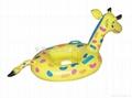 PVC充氣水上儿童船