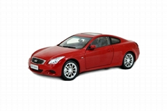 Miniature Cars Replica Infiniti G37 Coupe 2013 Diecast Model Car By Paudi