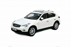 Model Building Vehicle Infiniti EX25 2013 Scale Model Automobile Parts by Paudi