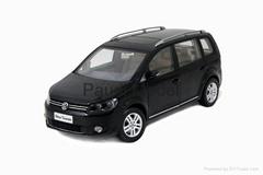 Personalized Gift Volkswagen Touran Diecast car models Das Auto authorization