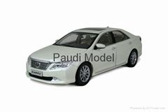 Customize Paudi 2265 Toyota Camry XV50 Diecast Car1/18 Models Aluminum Die Cast