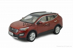 Hyundai Santafe 2013 Die-cast Model 1/18 Scale Hobbies Diecast Gifts By Paudi