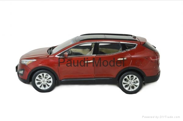 Hyundai Santafe 2013 Die Cast Model 1 18 Scale Hobbies
