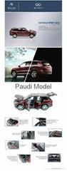 New Diecast Model Car Infiniti QX60 2014 Exclusive Offer Automobile Paud Model