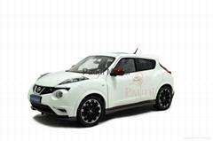 Model Building Vehicle Nissan Juke 2014 1:18 Scale Model Automobile Parts