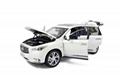 Infiniti QX60 2014 1/18 Scale Diecast Model Car 3