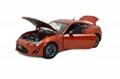 Model Making Supply Toyota GT86 2013 Diecast Car Models Collectable Scale Hobby 3