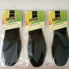 竹炭鞋垫透气鞋垫军绿三明治网面防水鞋垫透气鞋垫