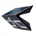 格士得新款太陽能人體感應燈5W
