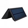 格士得新款太阳能人体感应灯5W大功率 室外防水庭院灯LED花园壁灯 2
