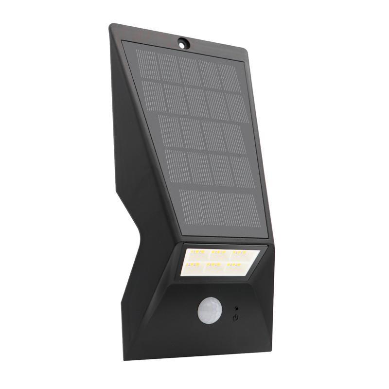 超亮LED新农村家用太阳能户外防水感应庭院小路灯草坪景观墙壁灯 3
