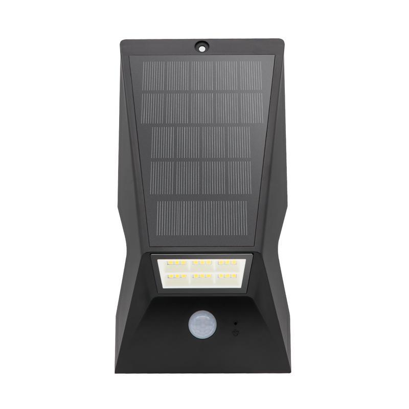 超亮LED新农村家用太阳能户外防水感应庭院小路灯草坪景观墙壁灯 1