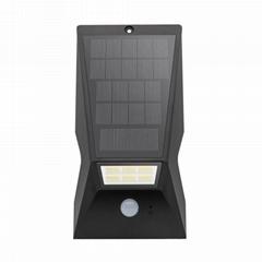 超亮LED新农村家用太阳能户外防水感应庭院小路灯草坪景观墙壁灯
