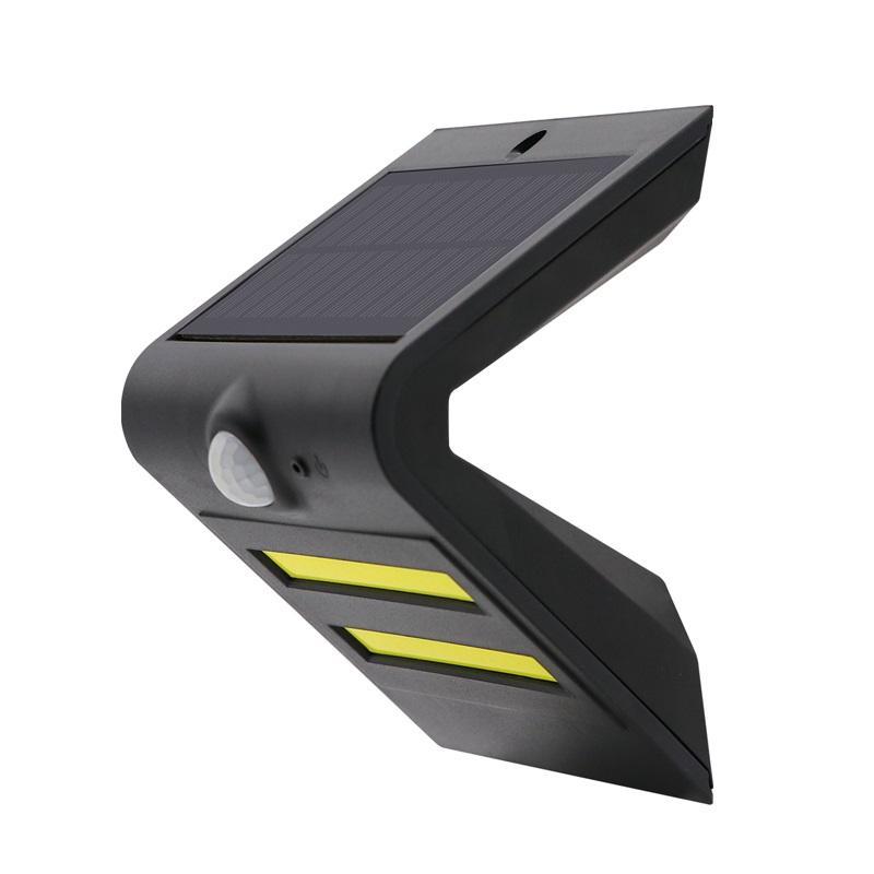 新款太阳能LED户外人体红外感应壁灯家用庭院装饰灯楼梯照明路灯 1