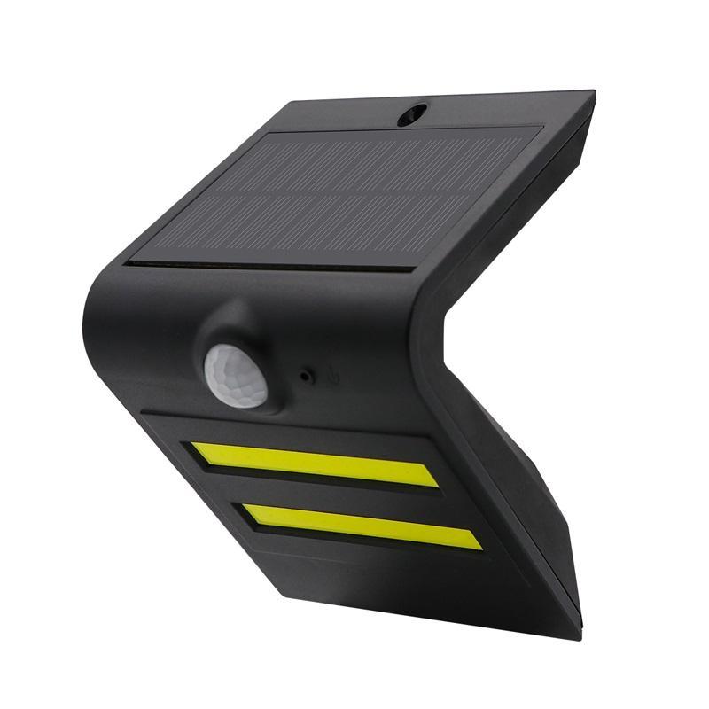 新款太阳能LED户外人体红外感应壁灯家用庭院装饰灯楼梯照明路灯 3
