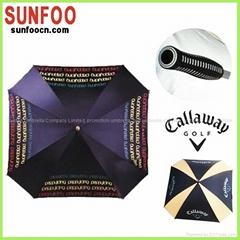 Custom design square rain umbrella