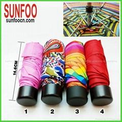 Compact super mini umbrella