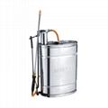 16L Stainless Steel Knapsack Sprayer for