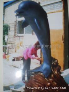 供应天津树脂雕塑工艺品 2