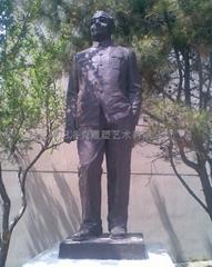 铸铜名人雕像